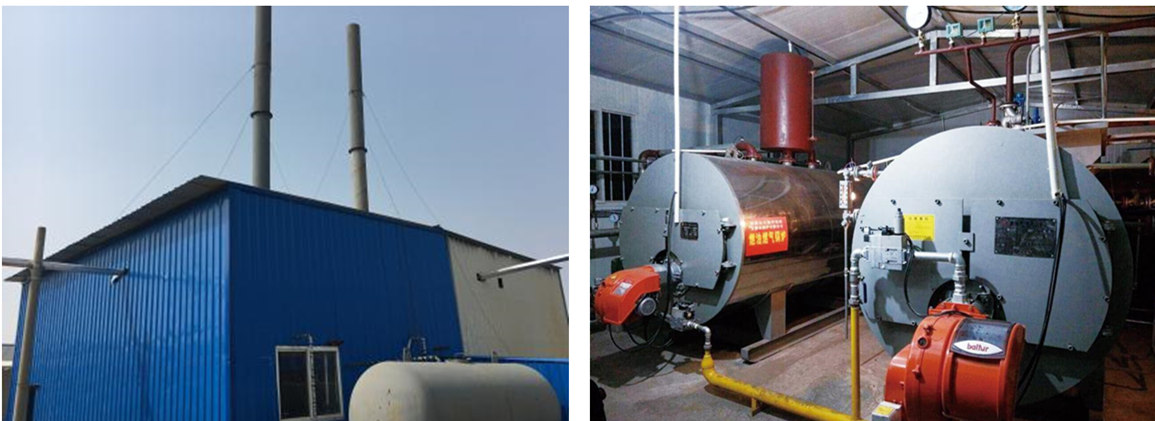 gas fired steam boiler in Pakistan